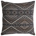 Signature Design by Ashley Pillows Erata Gray/Brown Pillow - Item Number: A1000236P