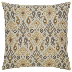 Signature Design by Ashley Pillows Damarion Taupe/Gold/Tan Pillow