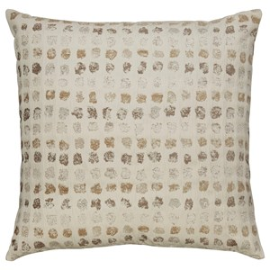 Signature Design by Ashley Pillows Whitehurst Cream/Taupe Pillow