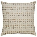 Signature Design by Ashley Pillows Whitehurst Cream/Taupe Pillow - Item Number: A1000238P