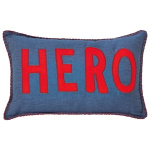 Signature Design by Ashley Pillows Amarion Blue/Red Pillow