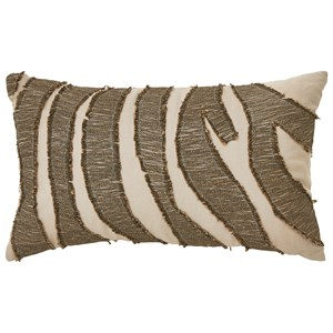 Signature Design by Ashley Pillows Akari Brown/Cream Pillow