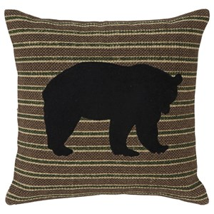 Signature Design by Ashley Pillows Darrell Bear Applique Pillow