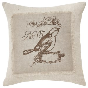 Signature Design by Ashley Pillows Ashling Brown/Cream Pillow