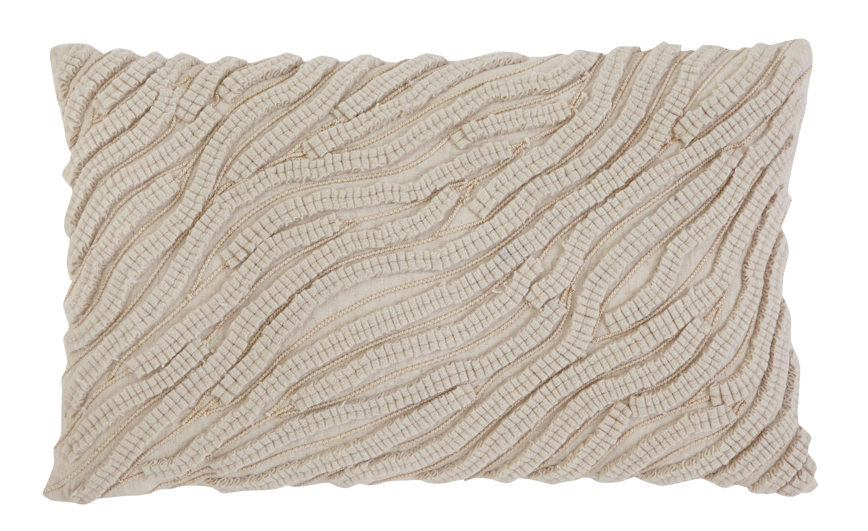 Signature Design by Ashley Pillows Stitched - Natural Lumbar Pillow - Item Number: A1000264P