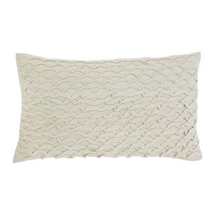 Signature Design by Ashley Pillows Stitched - Beige Lumbar Pillow
