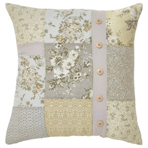 Signature Design by Ashley Pillows Josey Gray/Yellow/Cream Pillow