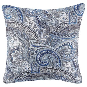 Signature Design by Ashley Pillows Therese Blue Pillow