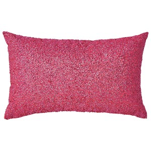 Signature Design by Ashley Pillows Arabelle Fuchsia Pillow
