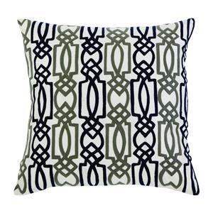 Signature Design by Ashley Pillows Embroidered - Navy Pillow