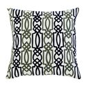 Signature Design by Ashley Pillows Embroidered - Navy Pillow - Item Number: A1000294P