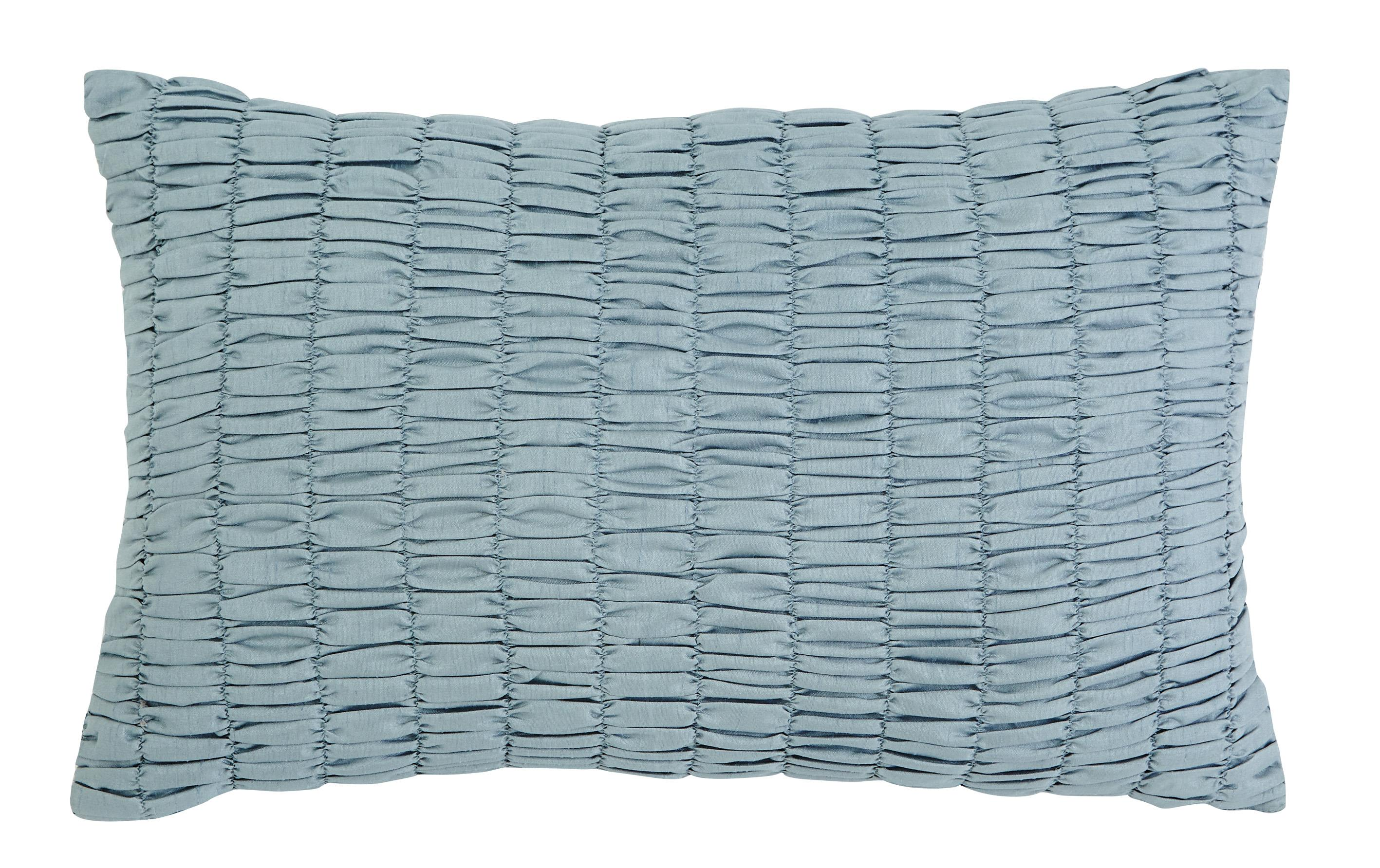Signature Design by Ashley Pillows Stitched - Sky Blue Lumbar Pillow - Item Number: A1000296P