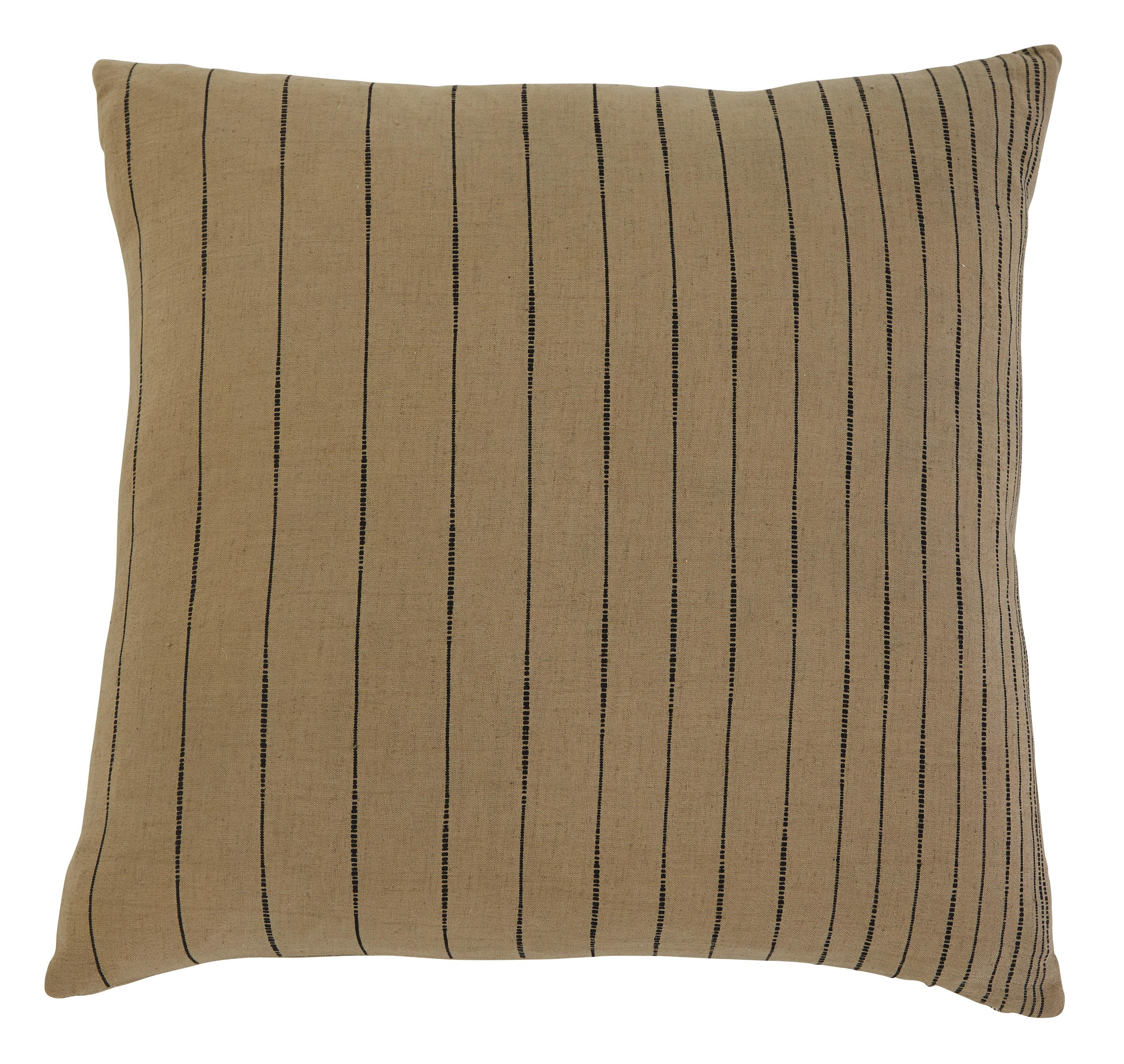 Signature Design by Ashley Pillows Stitched - Khaki Pillow - Item Number: A1000301P
