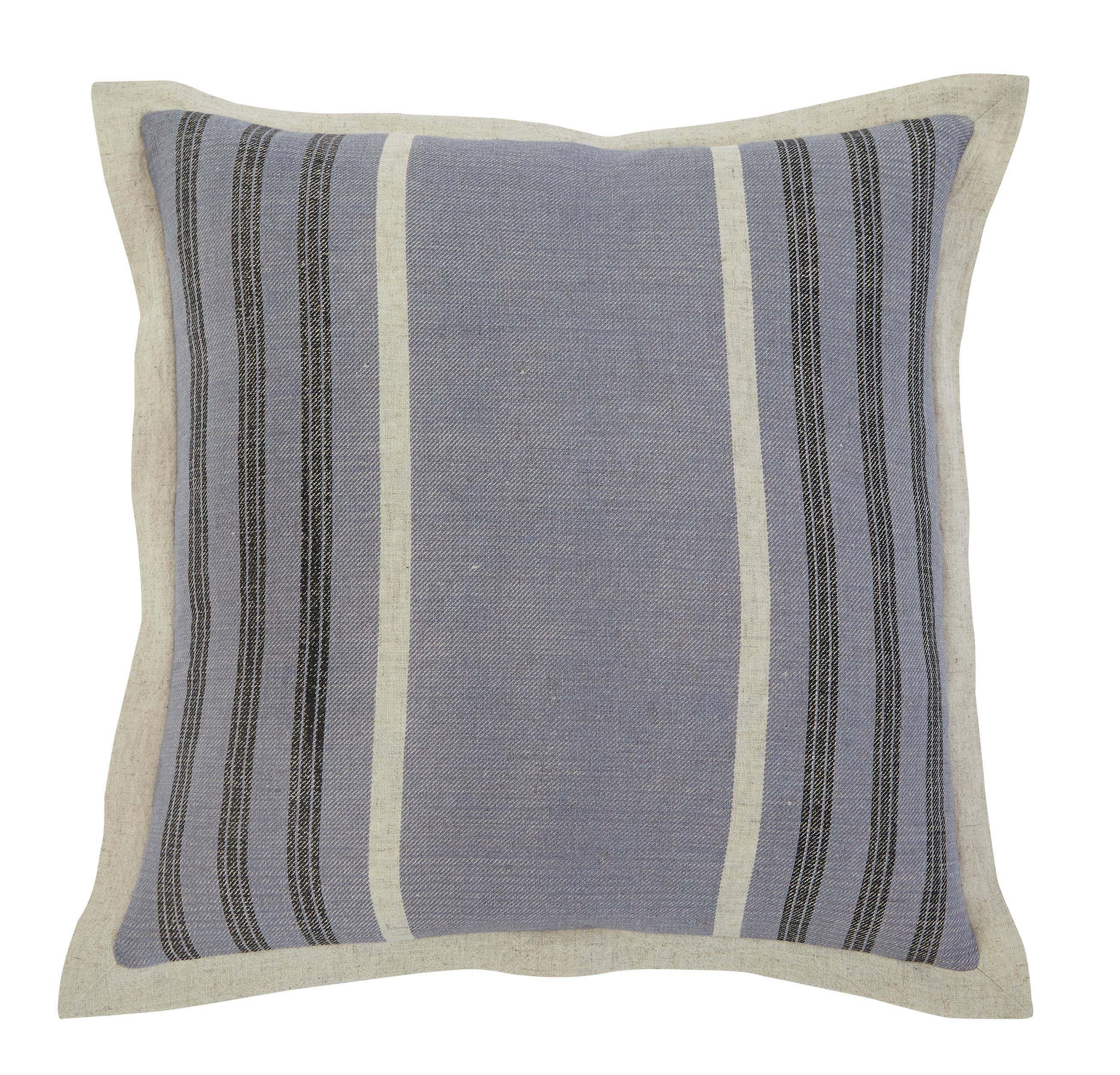 Signature Design by Ashley Pillows Striped - Blue - Item Number: A1000308P