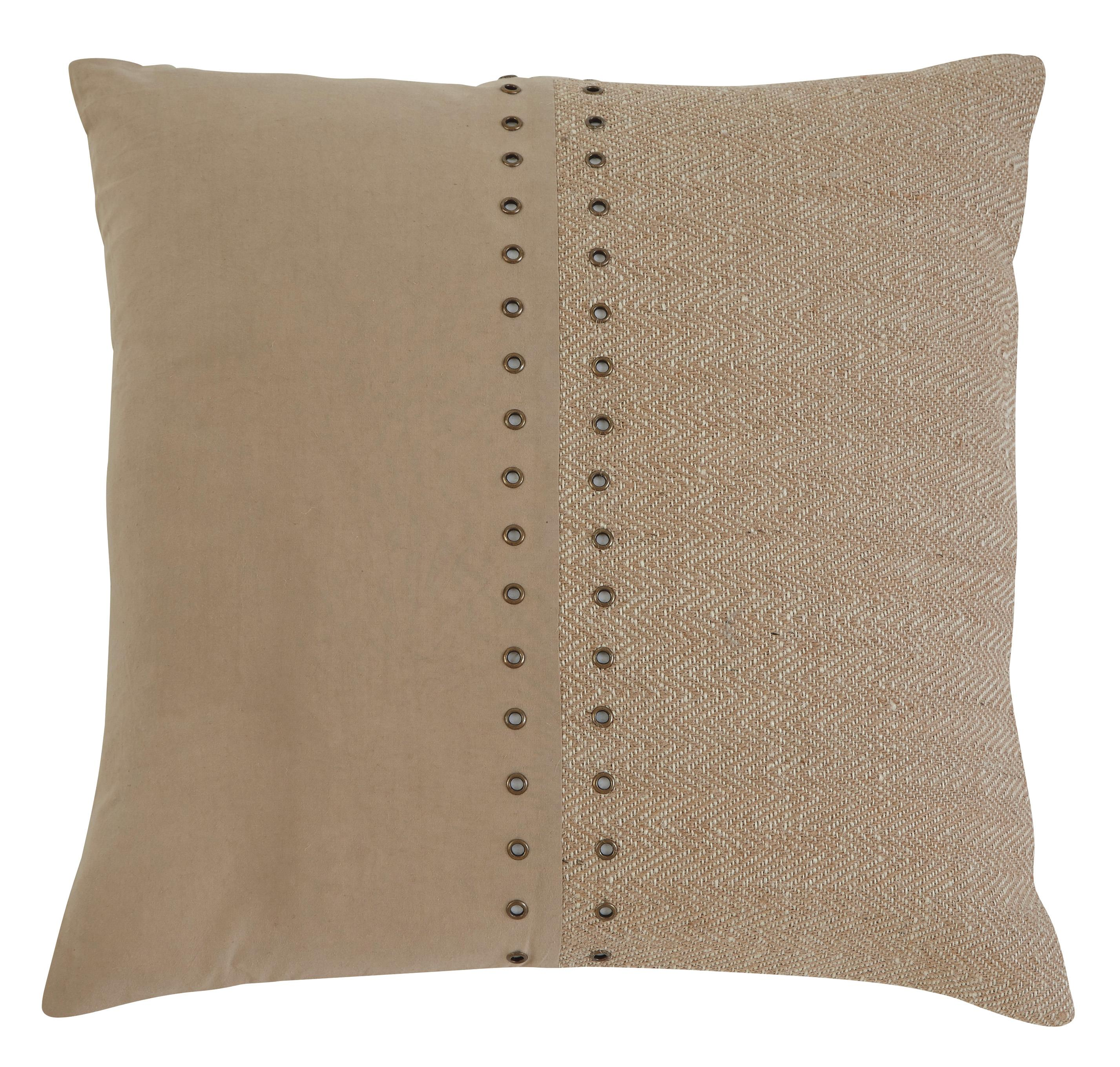 Signature Design by Ashley Pillows Textured - Natural Pillow - Item Number: A1000318P