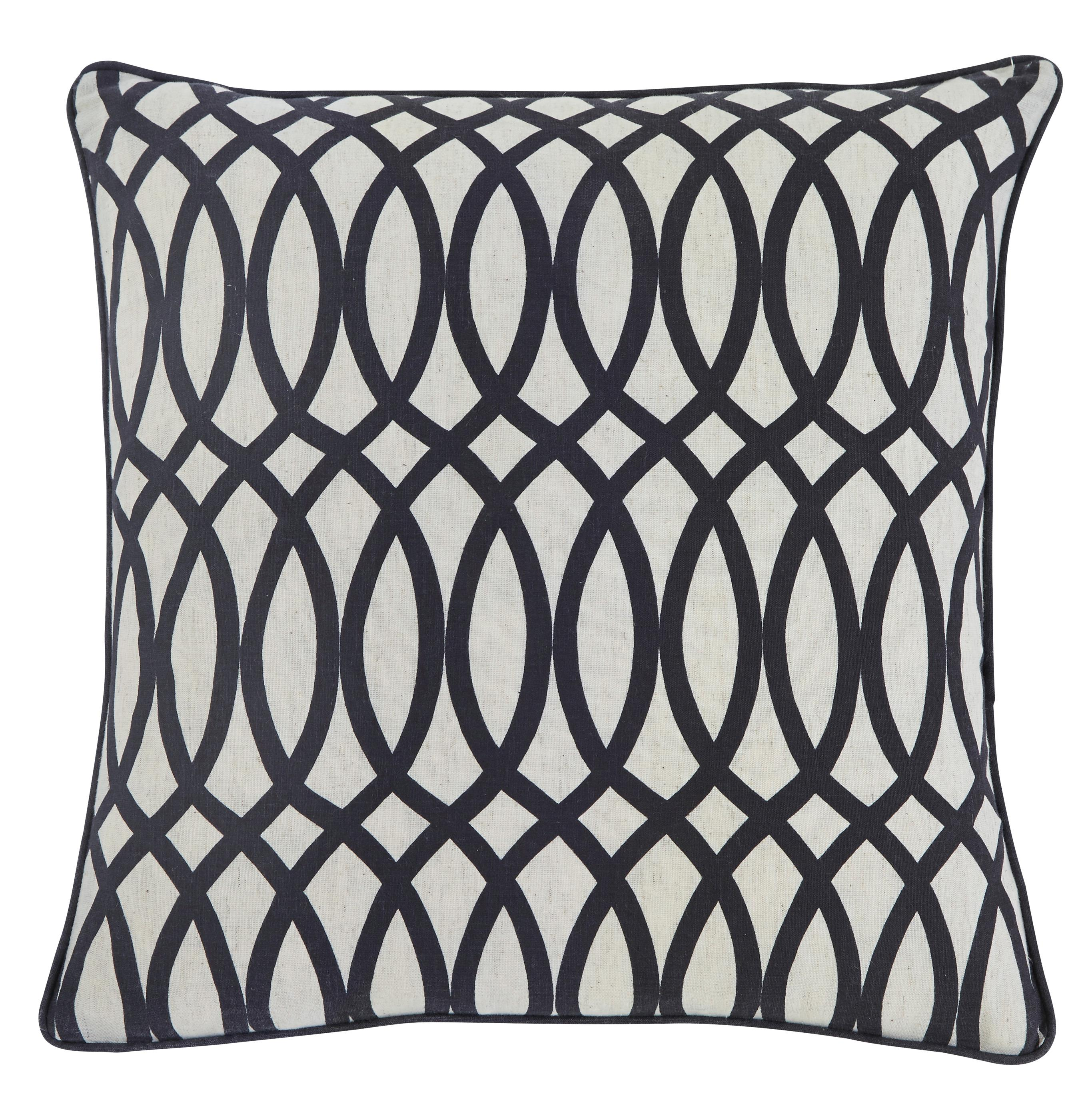 Signature Design by Ashley Pillows Gate - Black Pillow Cover - Item Number: A1000321P