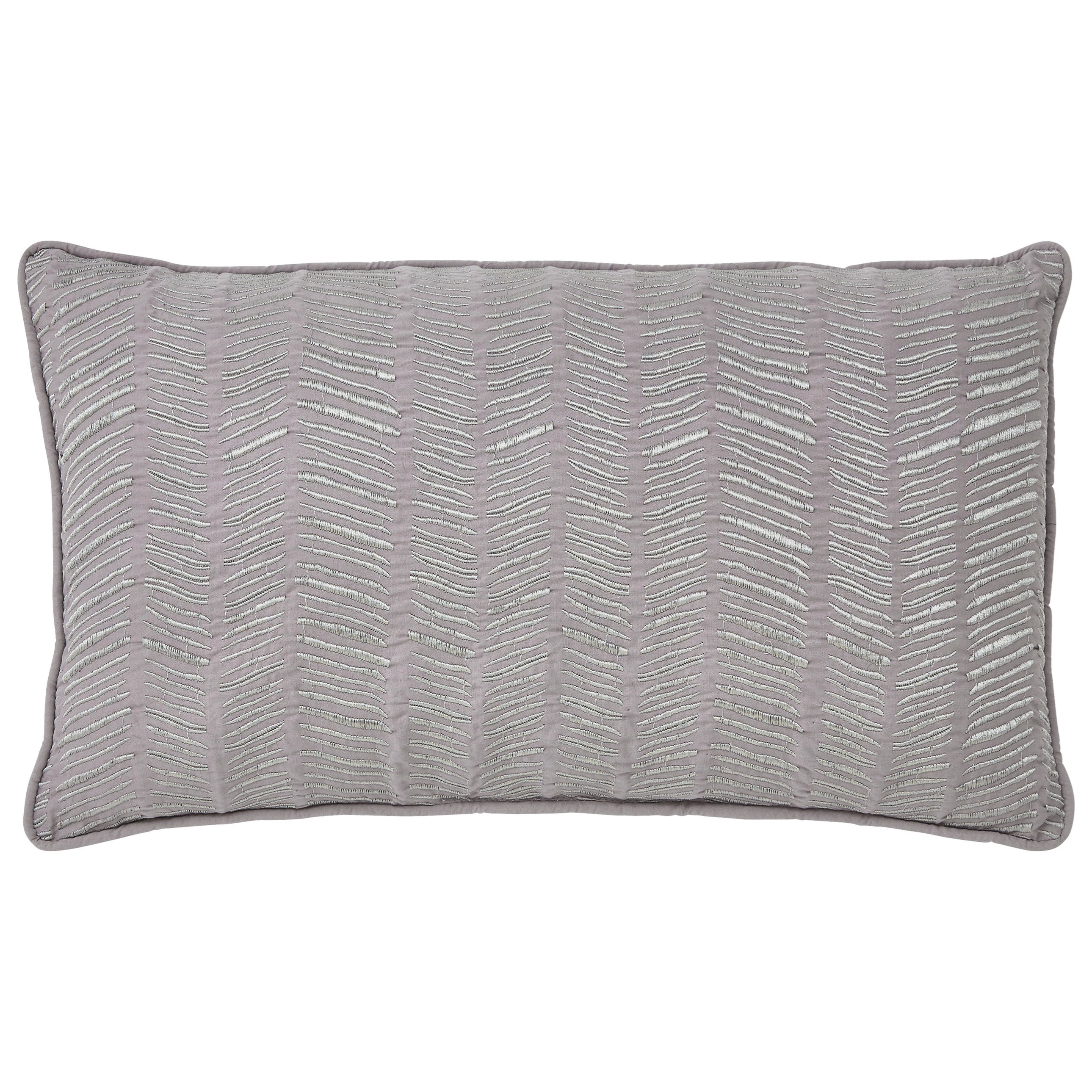 Signature Design by Ashley Pillows Canton - Gray Lumbar Pillow - Item Number: A1000330P