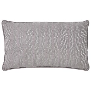 Signature Design by Ashley Pillows Canton - Gray Lumbar Pillow