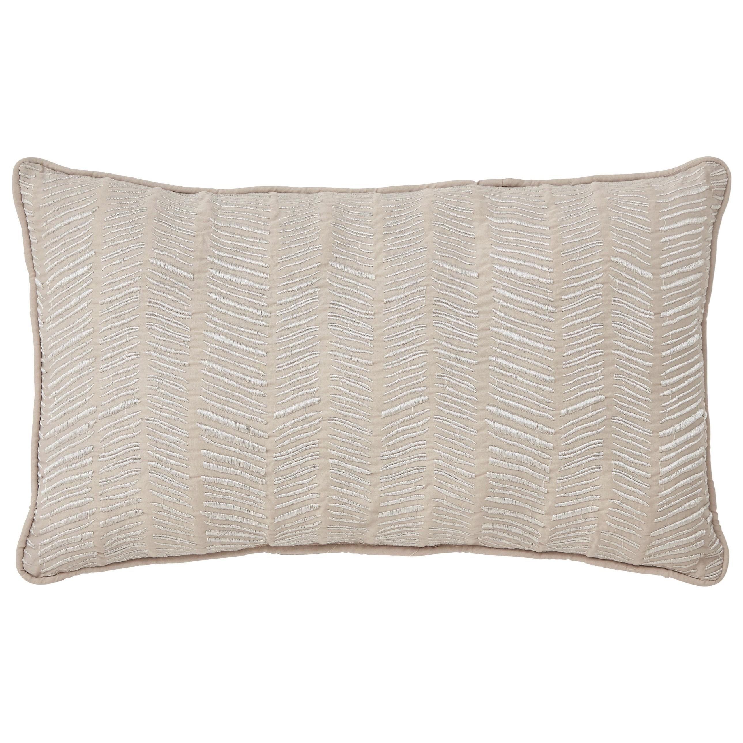 Signature Design by Ashley Pillows Canton - Cream Lumbar Pillow - Item Number: A1000331P