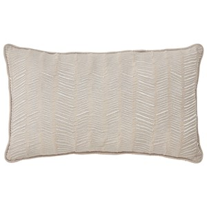 Signature Design by Ashley Pillows Canton - Cream Lumbar Pillow