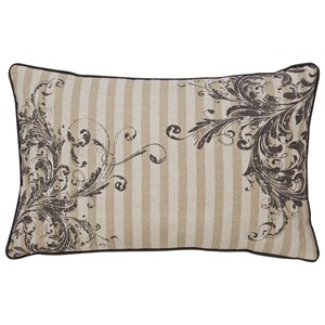 Signature Design by Ashley Pillows Avariella Natural/Gray Pillow