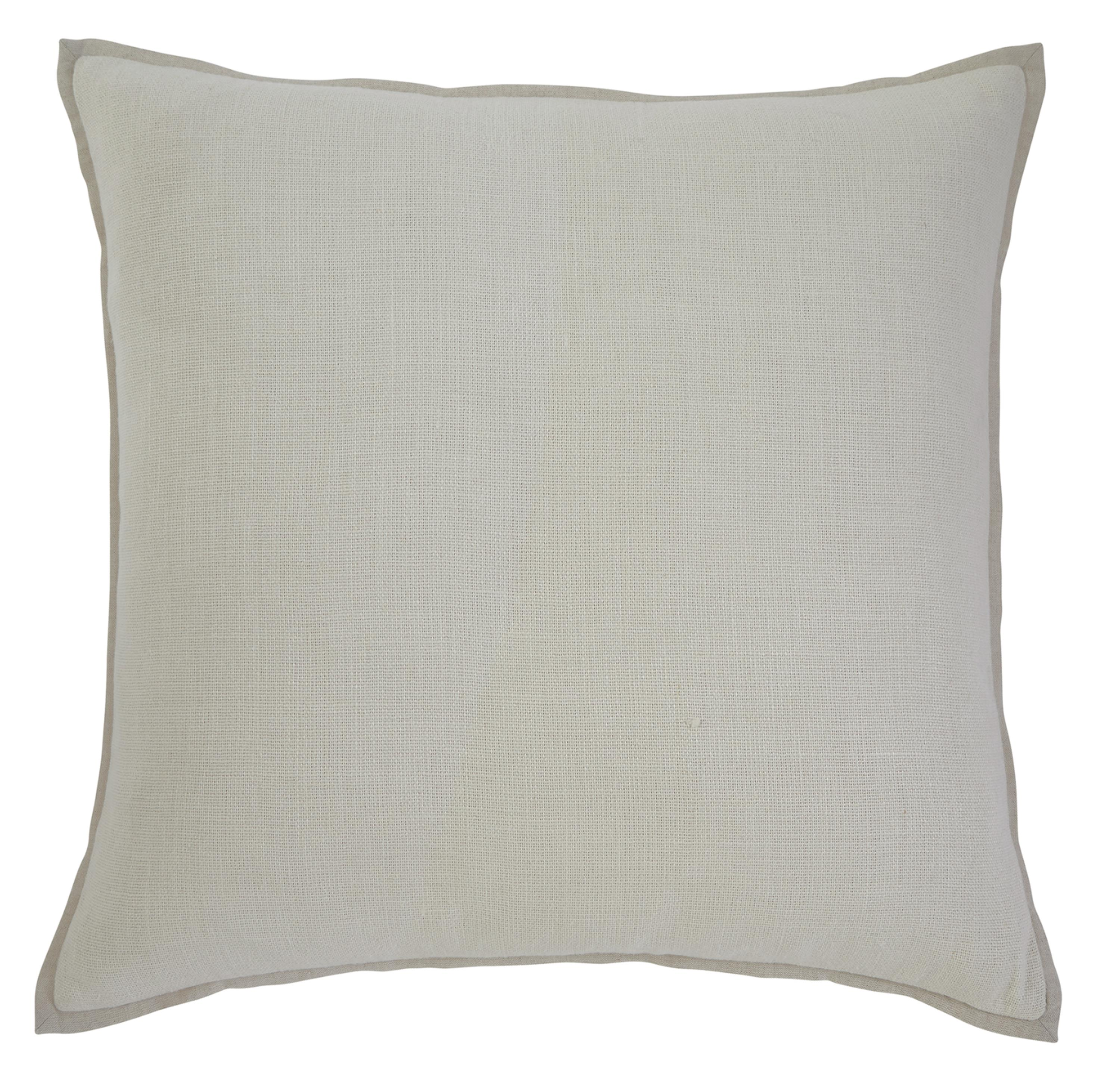 Signature Design by Ashley Pillows Solid - Ecru Pillow Cover - Item Number: A1000339P