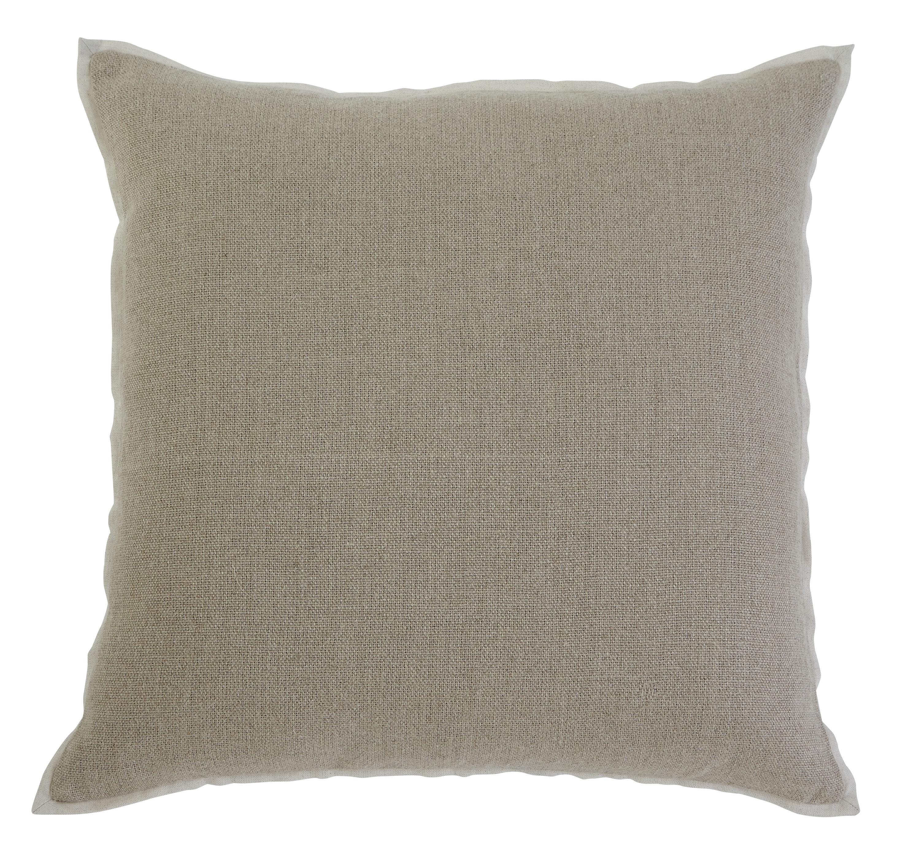 Signature Design by Ashley Pillows Solid - Khaki Pillow Cover - Item Number: A1000342P