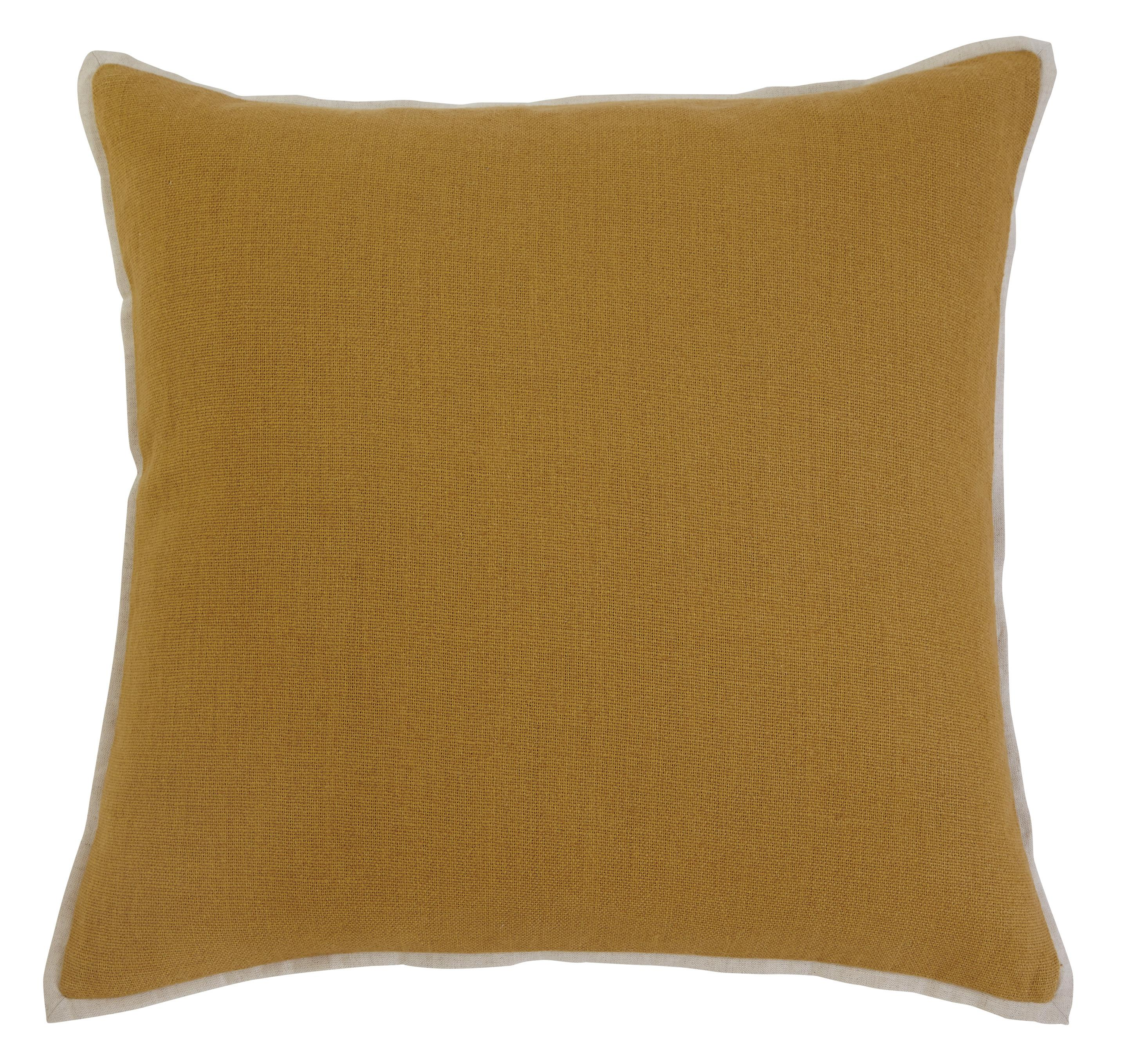 Signature Design by Ashley Pillows Solid - Mustard Pillow Cover - Item Number: A1000343P