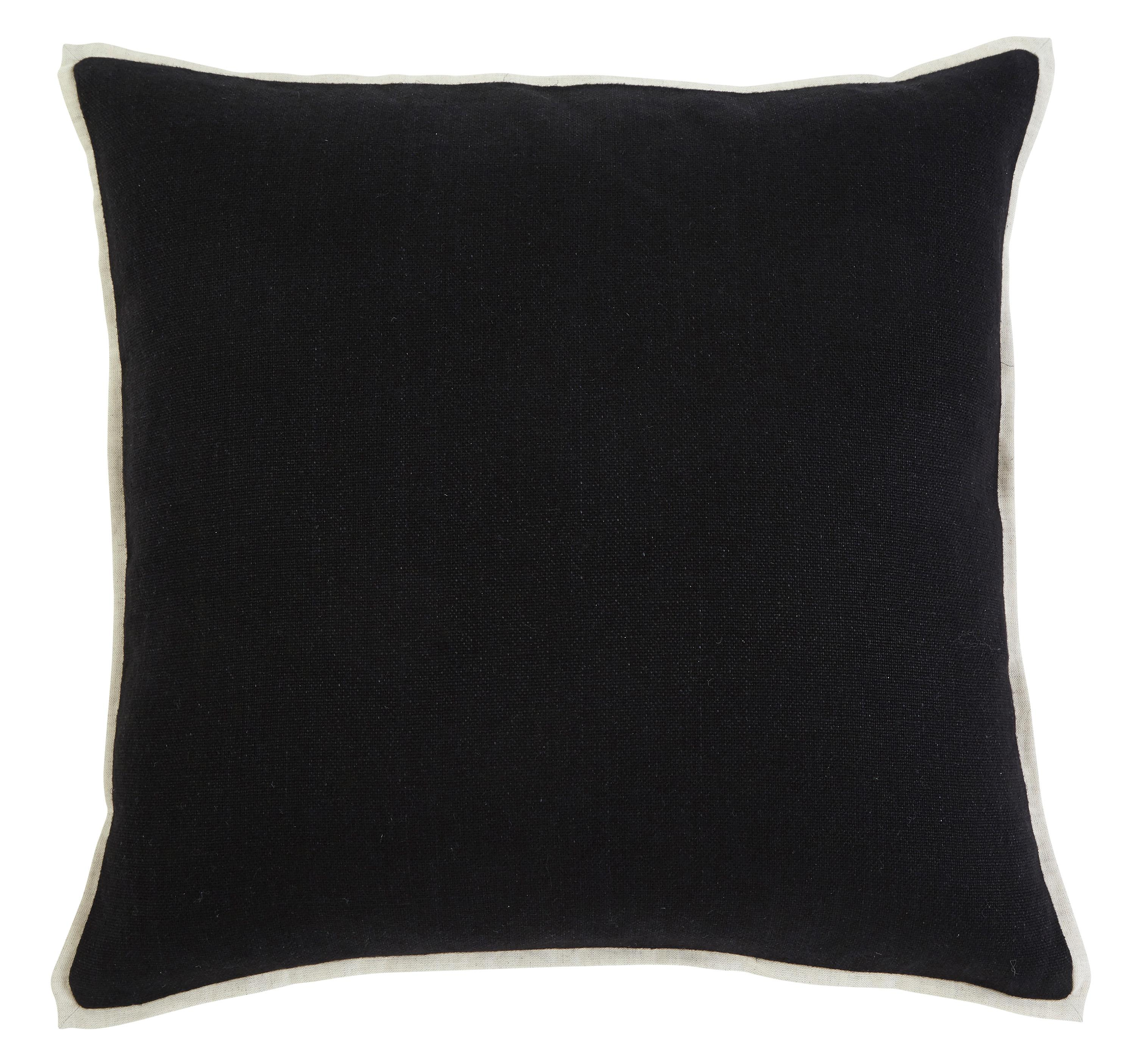 Signature Design by Ashley Pillows Solid - Black Pillow Cover - Item Number: A1000344P