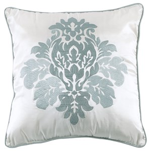Signature Design by Ashley Pillows Angelea Sage/Ivory Pillow