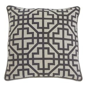 Signature Design by Ashley Pillows Geometric - Charcoal Pillow Cover