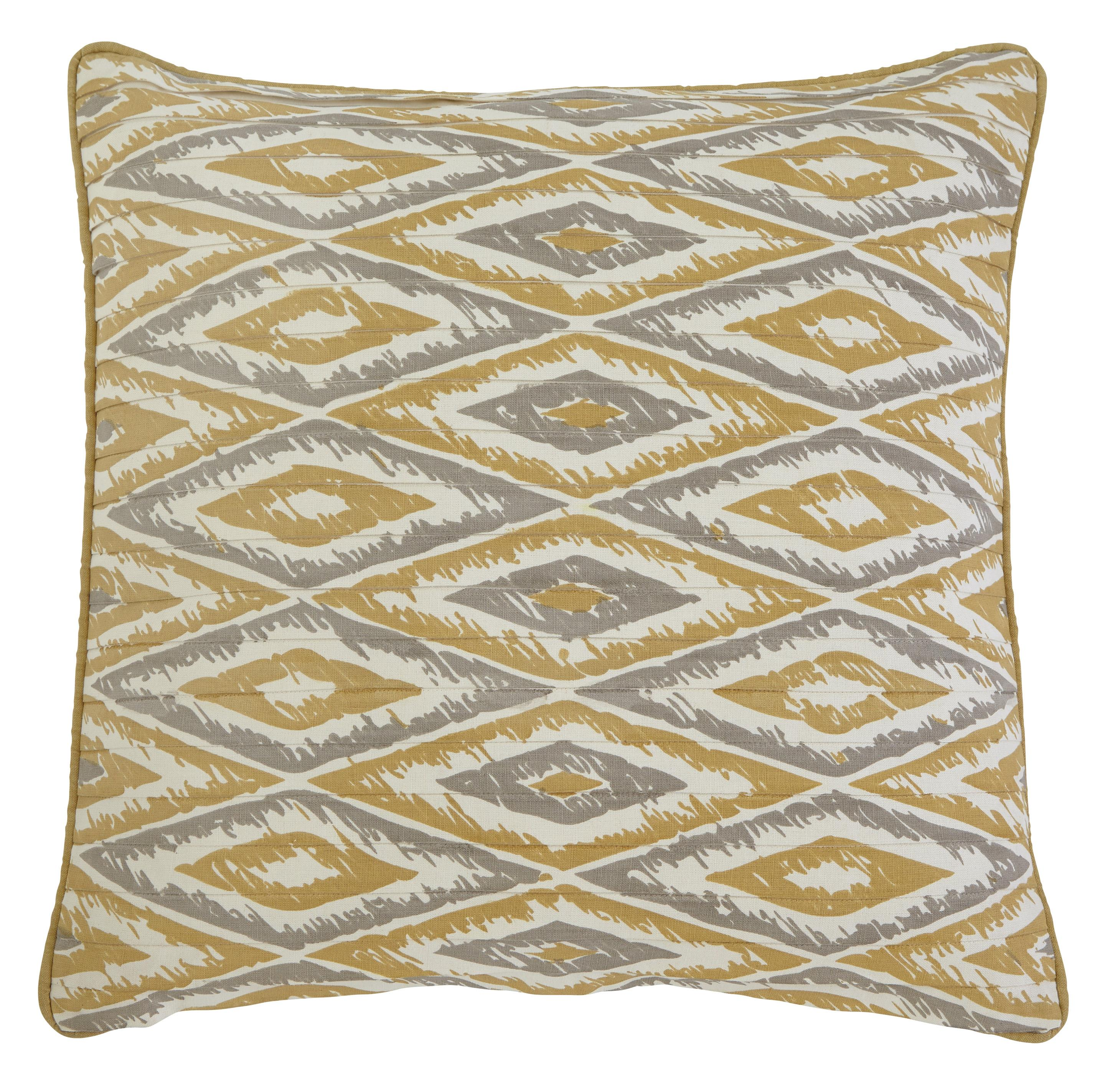 Signature Design by Ashley Pillows Stitched - Gold Pillow Cover - Item Number: A1000349P