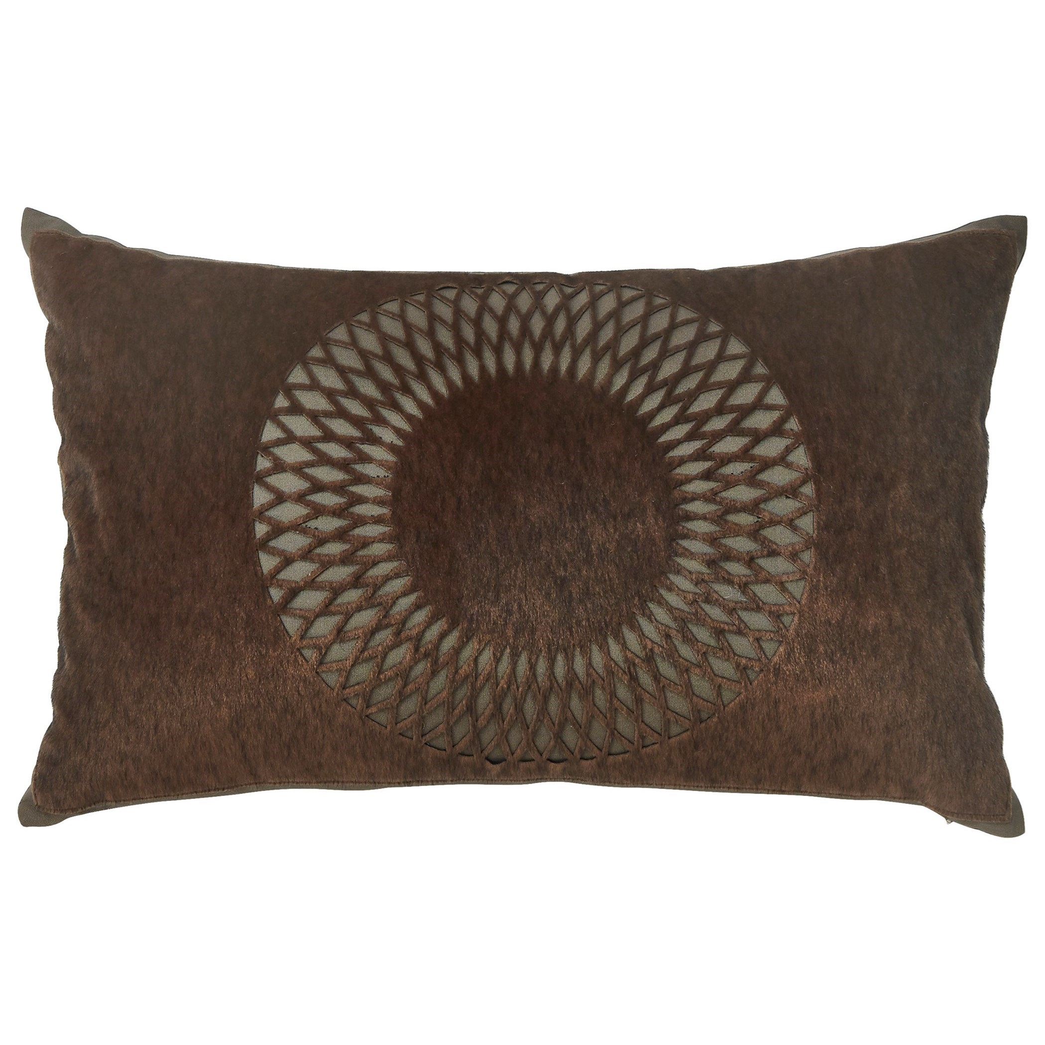 Signature Design by Ashley Pillows Lazarus Brown Pillow - Item Number: A1000351P