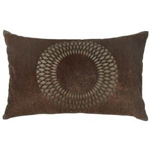 Signature Design by Ashley Pillows Lazarus Brown Pillow