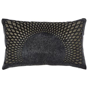 Signature Design by Ashley Pillows Lazarus Black Pillow