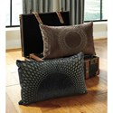 Signature Design by Ashley Pillows Lazarus Black Pillow