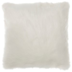 Signature Design by Ashley Pillows Himena White Pillow