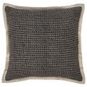 Signature Design by Ashley Pillows Wrexyville - Charcoal Pillow - Item Number: A1000359P