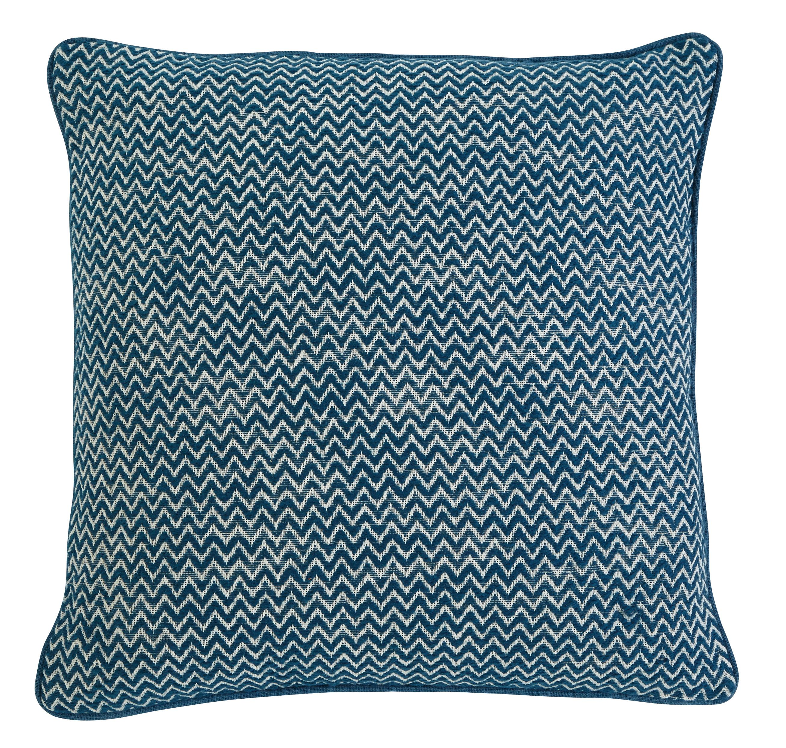 Signature Design by Ashley Pillows Chevron - Teal Pillow - Item Number: A1000362P