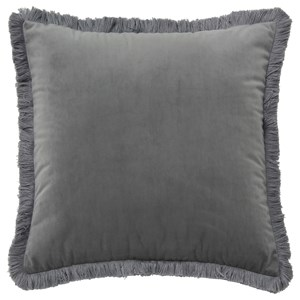 Signature Design by Ashley Pillows D'Artagnan Gray Pillow