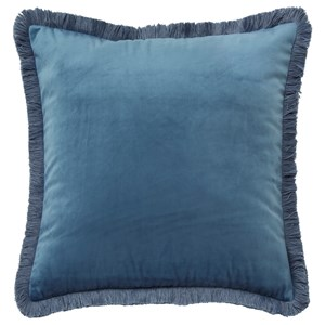 Signature Design by Ashley Pillows D'Artagnan Blue Pillow