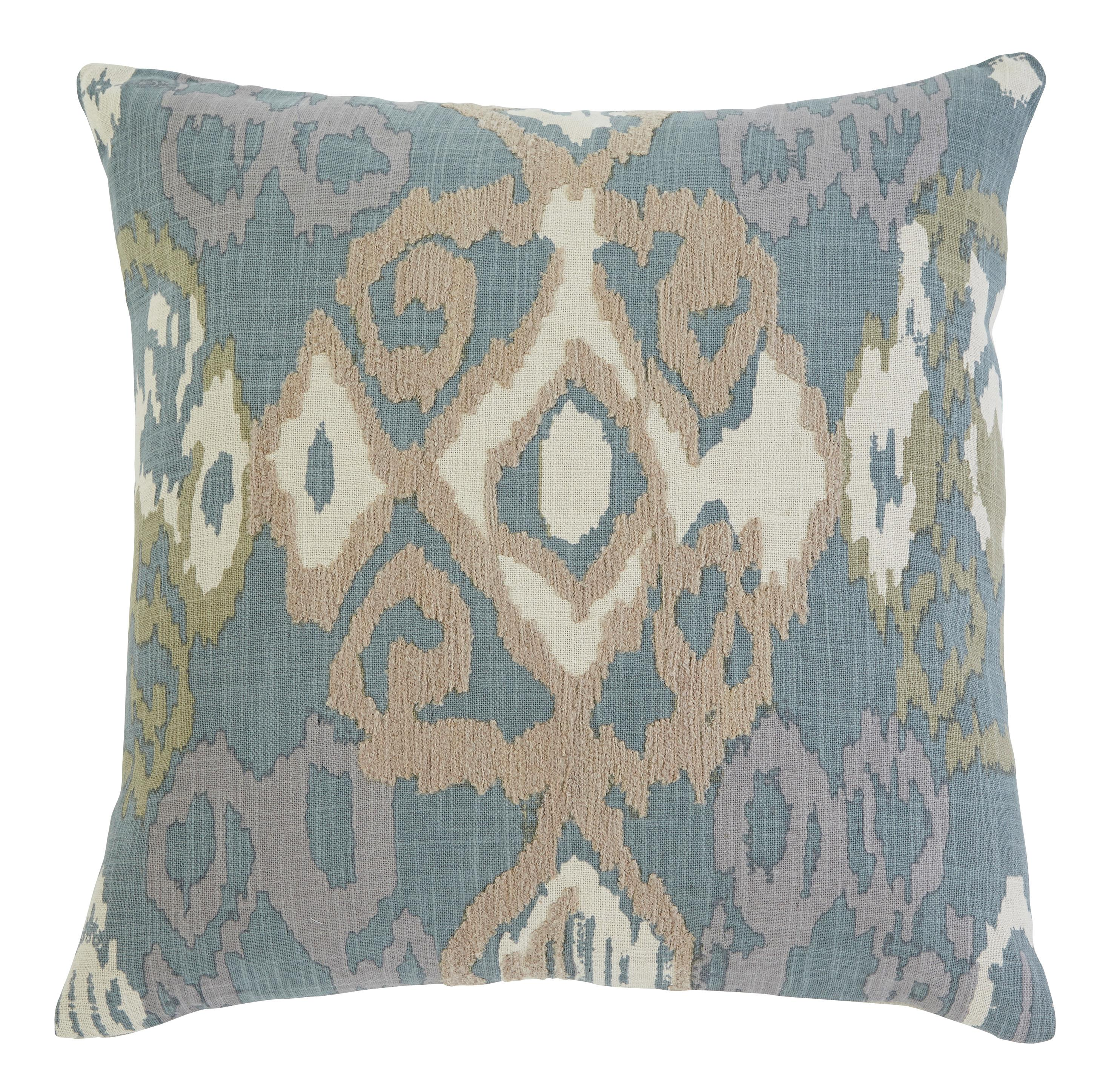 Signature Design by Ashley Pillows Patterned - Blue Pillow Cover - Item Number: A1000377P