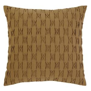 Signature Design by Ashley Pillows Patterned - Gold Pillow