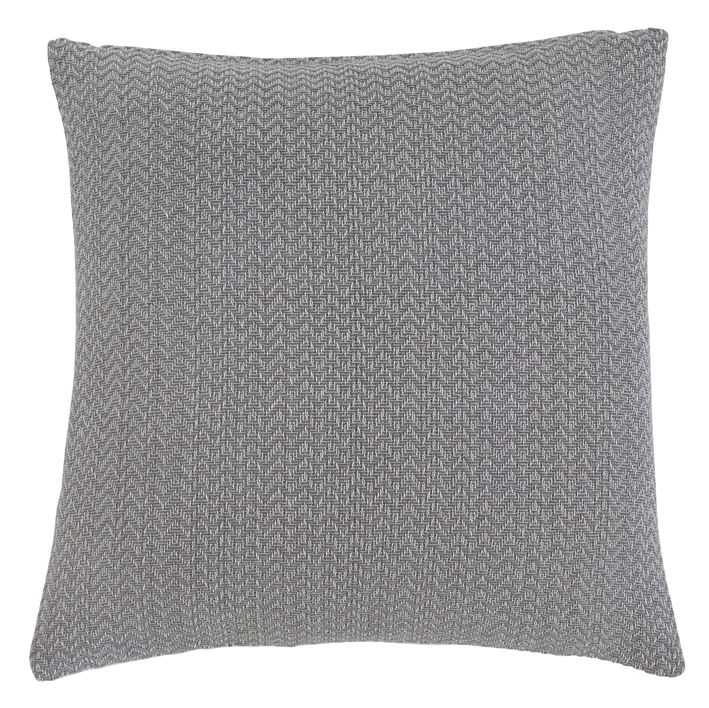 Signature Design by Ashley Pillows Solid - Gray Pillow - Item Number: A1000381P