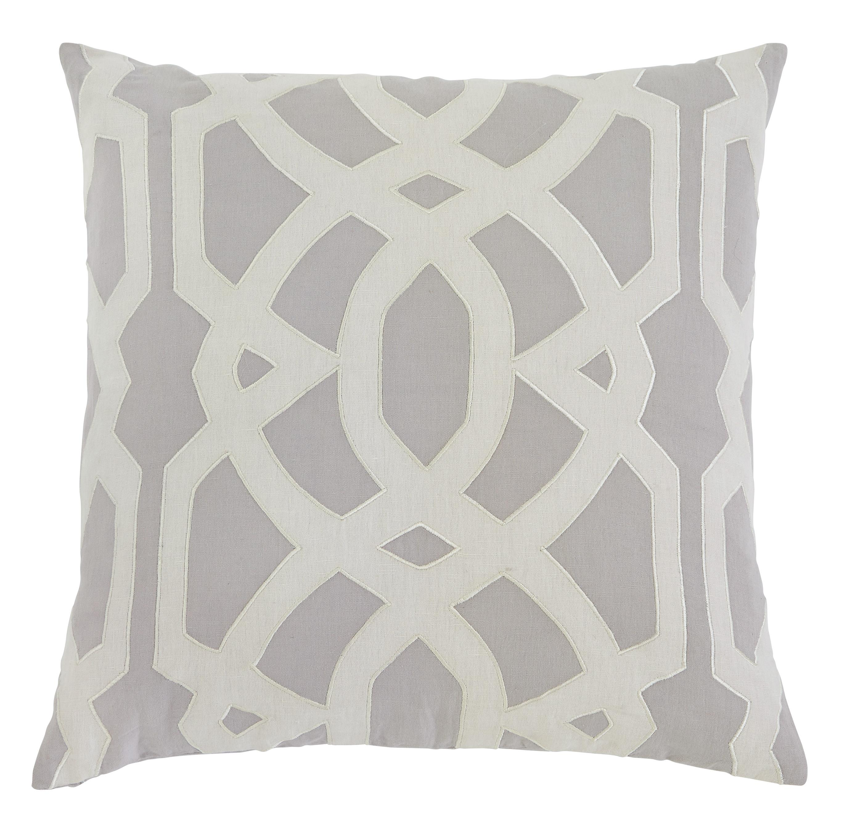 Signature Design by Ashley Pillows Gate - Gray Pillow Cover - Item Number: A1000397P