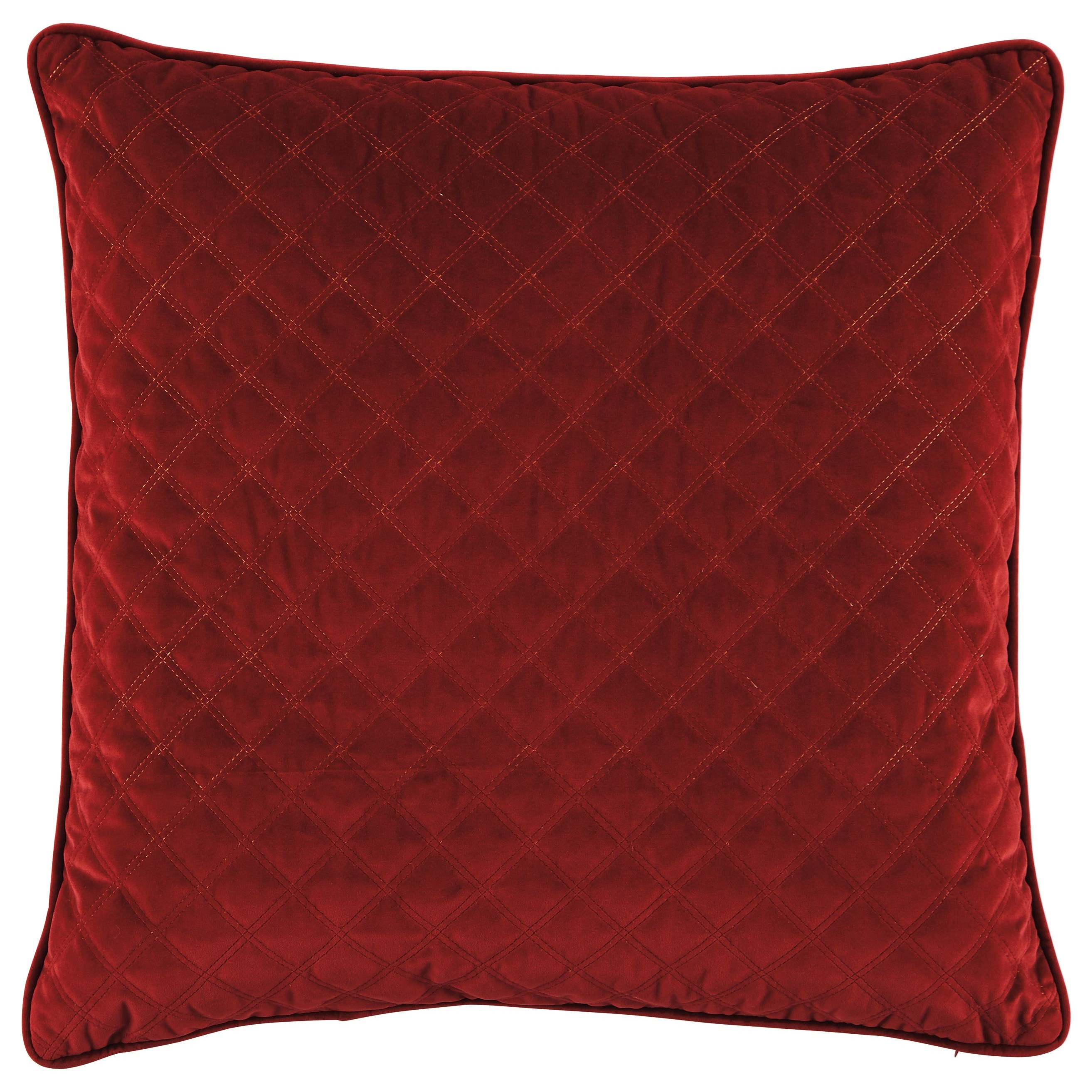 Trendz Pillows Piercetown Red Pillow - Item Number: A1000402P