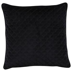 Signature Design by Ashley Pillows Piercetown Black Pillow