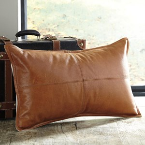 Signature Design by Ashley Pillows Brennen Brown Pillow