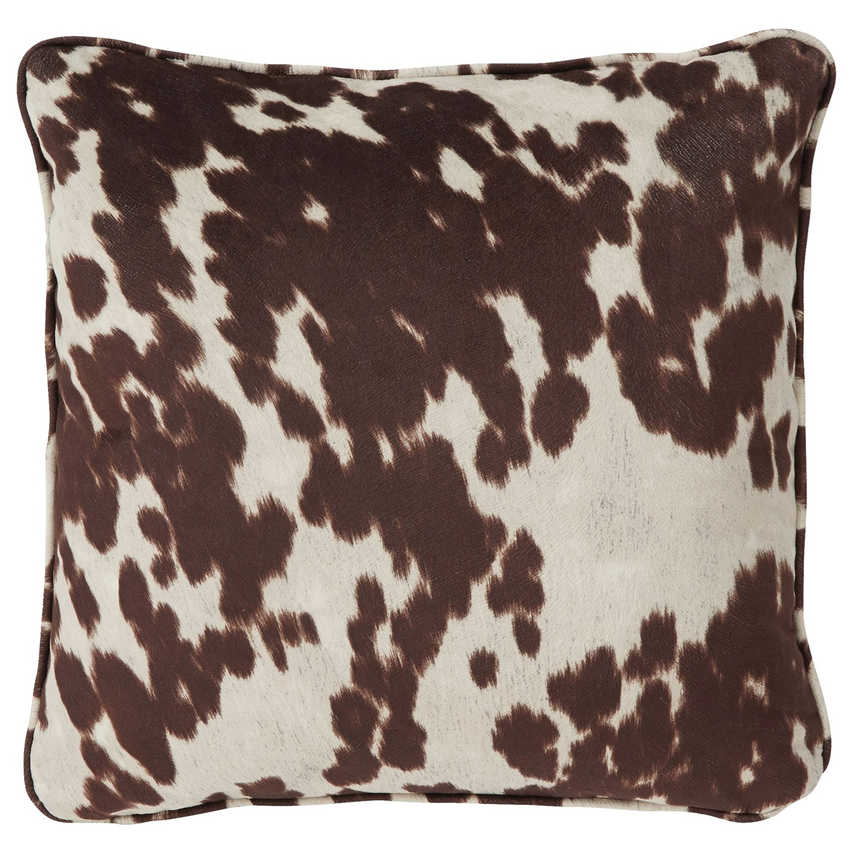 Signature Design by Ashley Pillows Dagan Brown/White Pillow - Item Number: A1000413P