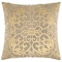 Signature Design by Ashley Pillows Melina Gold Pillow - Item Number: A1000451P